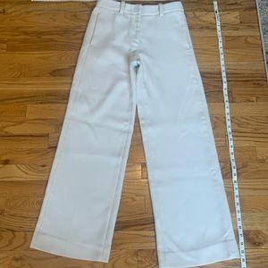 Thick trouser - cuffed pant leg